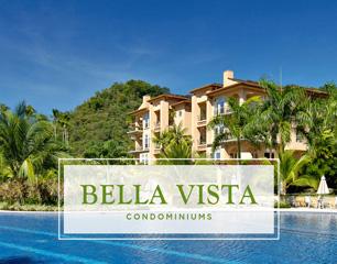 beach club in front of Bella Vista