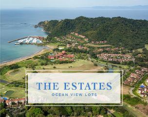 aerial view of Los Sueños Resort