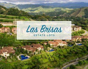 aerial view of buildings in Las Brisas Lot